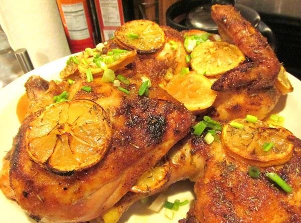 Rosemary Lemon Garlic Baked Chicken Recipe