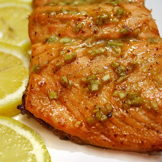 Baked Honey Dijon and Garlic Salmon Recipe