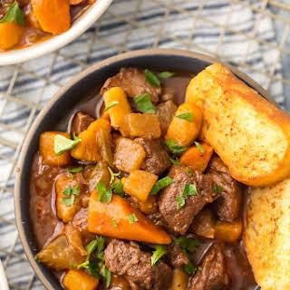 Instant Pot 5 Spice Beef Stew.