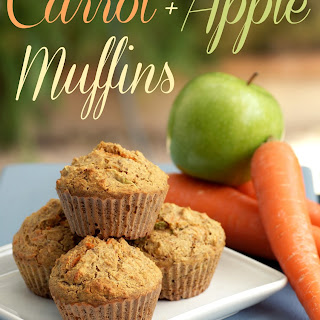 Carrot and Apple Muffin Recipe - Makes 12 Muffins Recipe