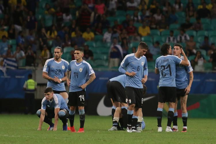 📷 La photo qui fait polémique en Uruguay après les 15 cas Covid positifs en sélection