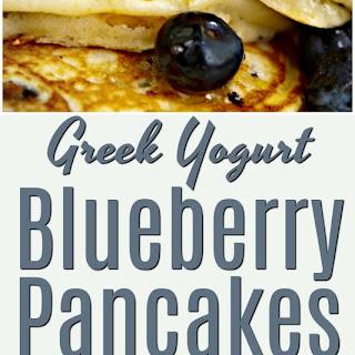 A Most Amazing Greek Yogurt Blueberry Pancake Recipe