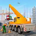 Oil Refinery Simulator - Construction Excavator icon