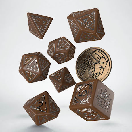 The Witcher Dice Set. Geralt  - Roachs Companion