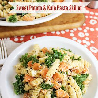 Sweet Potato & Kale Pasta Skillet.