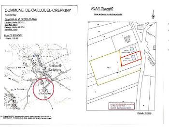 terrain à Caillouël-Crépigny (02)