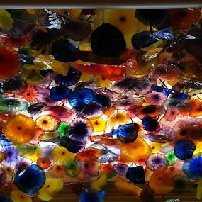 Glass art by Pal Mori - Artistic Objects Glass