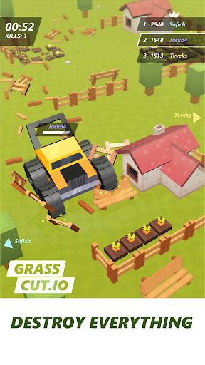 Grass cut.io - survive & become the last lawnmower 1.7 screenshots 2