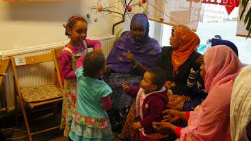Somalis beim Somalia-Abend