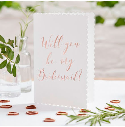 Kort - Will you be my bridesmaid? - Beautiful Botanics