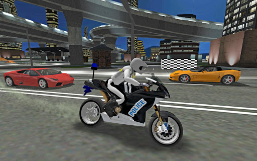 City Police MotorBike 3D Driving Simulator game (apk) free download for Android/PC/Windows screenshot
