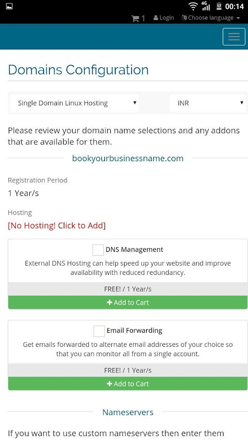 AGM Web Hosting- screenshot