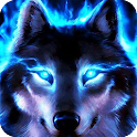 Wolf Eyes Live Wallpaper icon