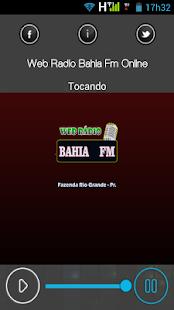 Web Rádio Bahia Fm Online - náhled
