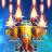 HAWK – Alien Arcade Shooter. Freedom squadron logo