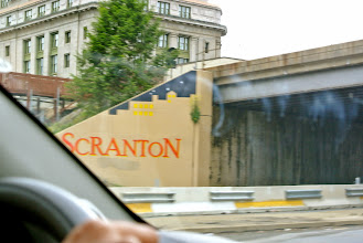 Photo: It is hard to pass the Scranton sign without pulling off the freeway for a little detour.