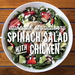 Spinach Avocado Chicken Recipes