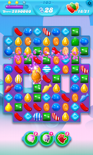 Candy Crush Soda Saga 1.185.0.1 MOD APK (Unlimited Lives) 2