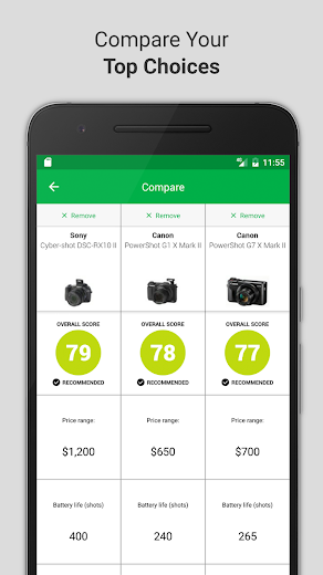 Screenshot 2 for Consumer Reports's Android app'