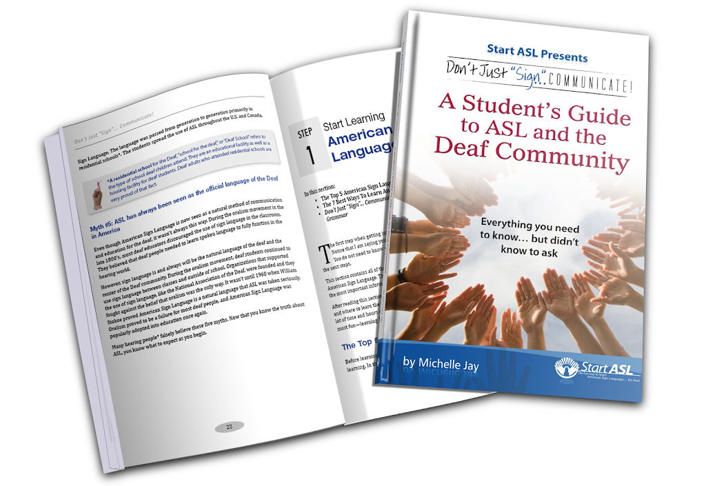 The start asl online course a students guide to asl and the deaf community fandeluxe Image collections