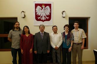 Photo: with Roman Chałaczkiewicz, the head of the Polish Consulate in Hawler