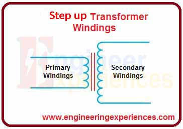 Step up transformer scheme (transformer types)