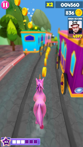 Unicorn Runner 2020: Running Game. Magic Adventure filehippodl screenshot 5