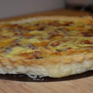 Bacon, Egg, and Cheese Quiche