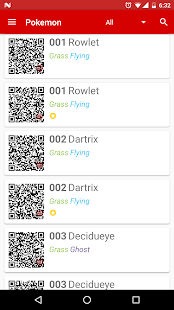 RotomDex - Alola QR Codes- screenshot thumbnail
