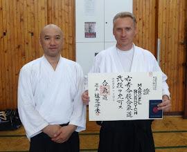 Photo: 2nd Dan in Aikido Aikikai Marcel Burdych - Aikido instructor in Rakovnik dojo (Czech Republic) http://aikidorakovnik.cz/ Member of Yufukan Japan Foundation (YJF) http://www.yufukan.com/
