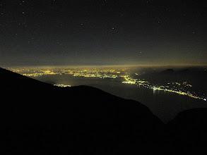 Photo: Lago di Garda by night  #lakegarda  #italy   http://www.gardafriends.com/overnachten-op-de-monte-baldo/