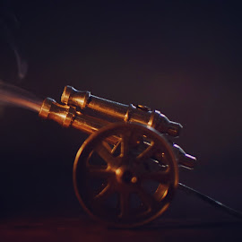 Cannon shot by Sagar Pradhan - Abstract Macro ( macro, macrophotography, photography, miniature, cannon )
