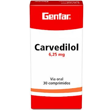 Carvedilol Genfar 6.25Mg   Comprimidos Caja X30Com.