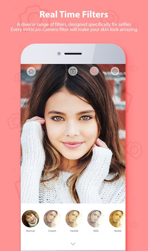 Selfie Camera Beauty - Filter & Photo Editor ❤ 2.5.16 screenshots 3