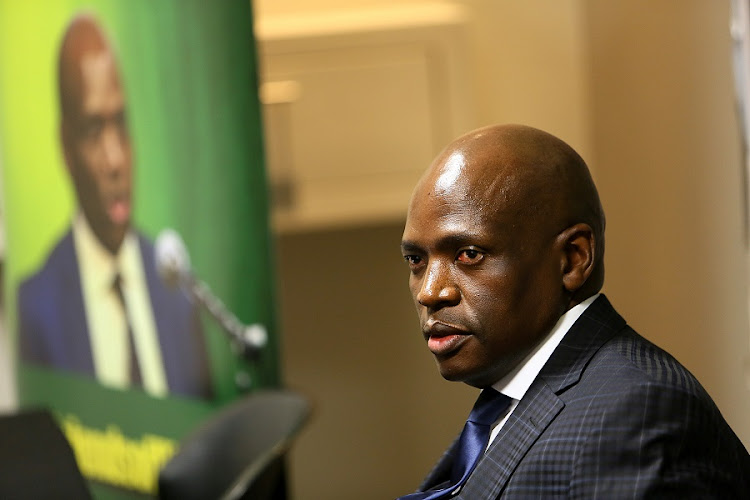 Hlaudi Motsoeneng. Picture: ALON SKUY/THE TIMES