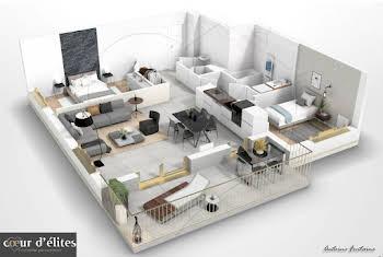 Appartement 3 pièces 75,5 m2