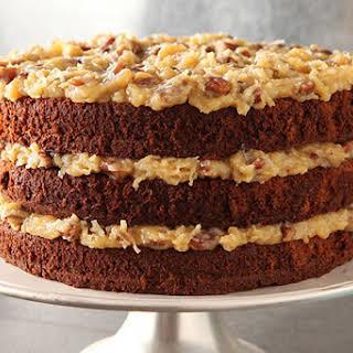 Original GERMAN'S Sweet Chocolate Cake.