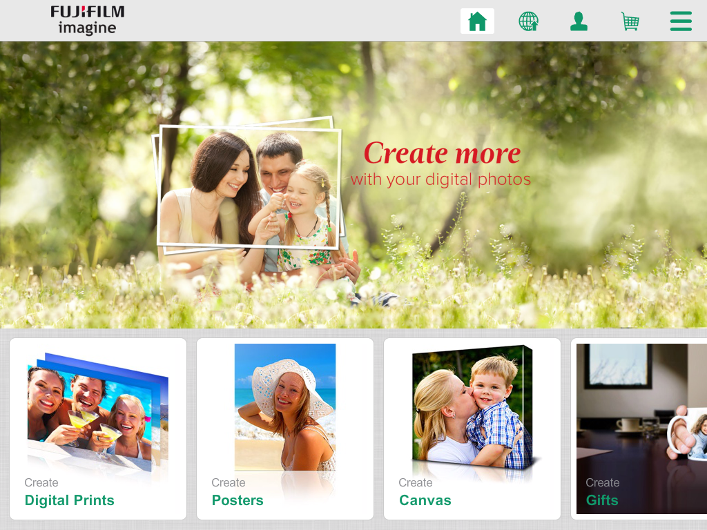 FUJIFILM Imagine Benelux- screenshot
