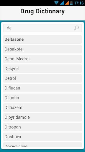 玩免費醫療APP|下載Drugs Dictionary 2016 app不用錢|硬是要APP