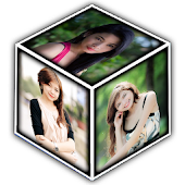 Photo 3D Cube Live Wallpaper