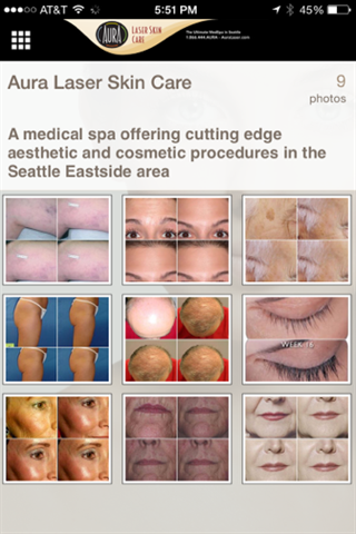 Aura Laser Skin Care- screenshot