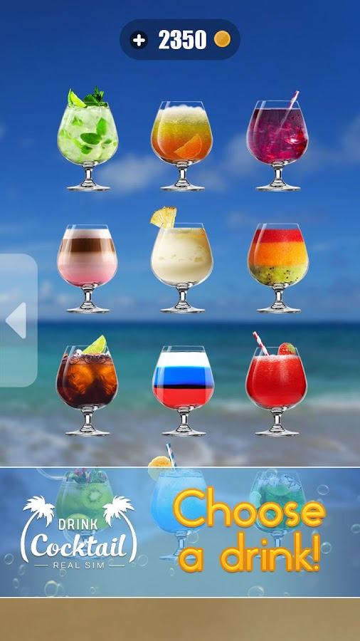 Drink Cocktail Real Sim- screenshot