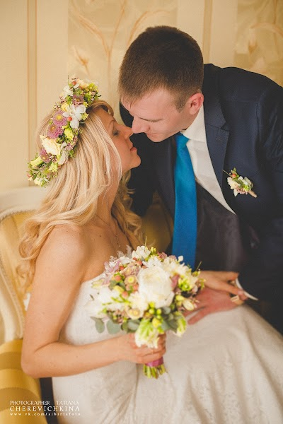 Huwelijksfotograaf Tatyana Cherevichkina (cherevichkina). Foto van 20.05.2014