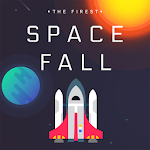 Space Fall - M Icon