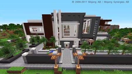 Modern Mansion Map for Minecraft PE APK - Download APK