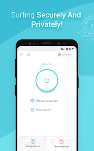 X-VPN - Free Private VPN Proxy Screenshot