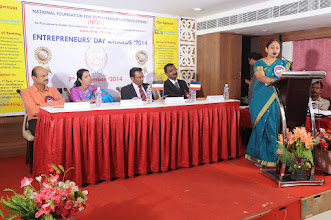 Photo: Welcome Address By Prof. S. Lakshmipriya, Programme Convener, NFED