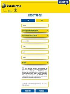 MEMENTO Eurofarma - náhled