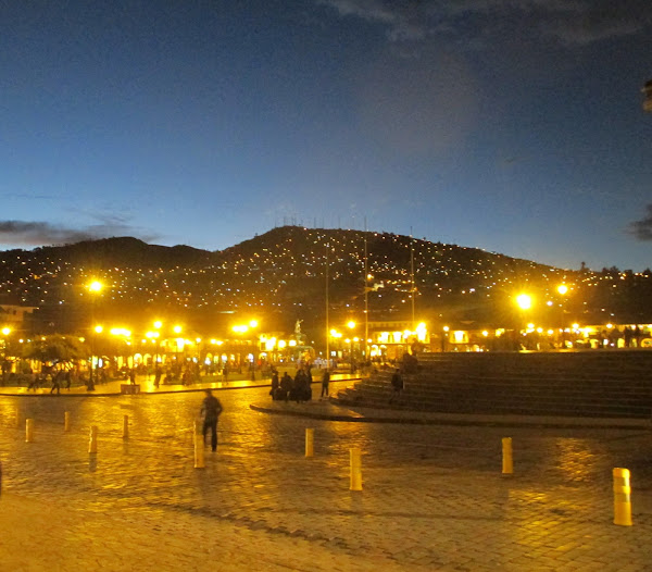 Cusco lights.