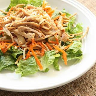 Crock Pot Chinese Chicken Salad.
